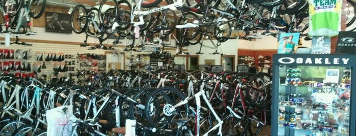 Richardson Bike Mart is one of NewNowNext Style.