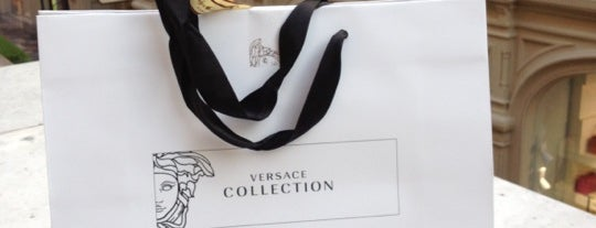 Versace Collection is one of สถานที่ที่บันทึกไว้ของ Anat.