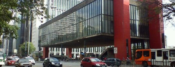 Museu de Arte de São Paulo (MASP) is one of Lugares legais em São Paulo.
