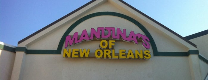Mandina's Restaurant is one of Tempat yang Disukai Matt.
