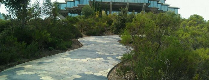 UCSD Snake Path is one of Hidden San Diego.
