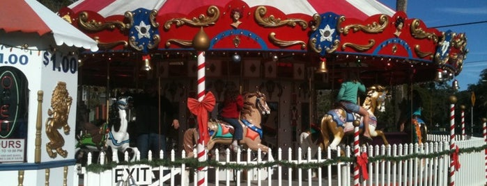 J&S Carousel is one of St Augustine Florida.