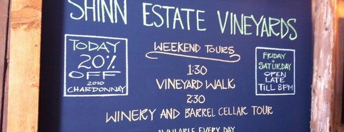 Shinn Estate Vineyard is one of North Fork Food & Wine.