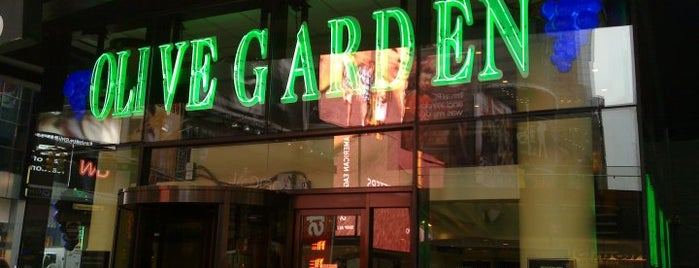 Olive Garden is one of Dicas de Nova York.