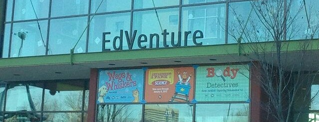 EdVenture is one of 75 Geeky Places to Take Your Kids.