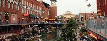 Bricktown District is one of Historic Route 66.