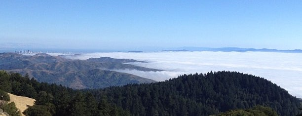 Mount Tamalpais State Park is one of SF.