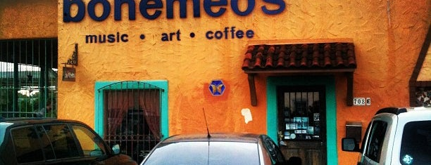 Bohemeo's is one of Houston coffee.