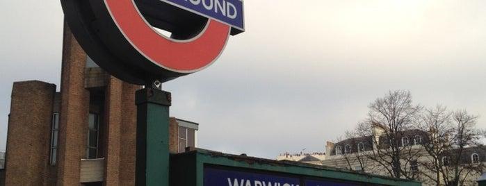 Warwick Avenue London Underground Station is one of Underground Stations in London.