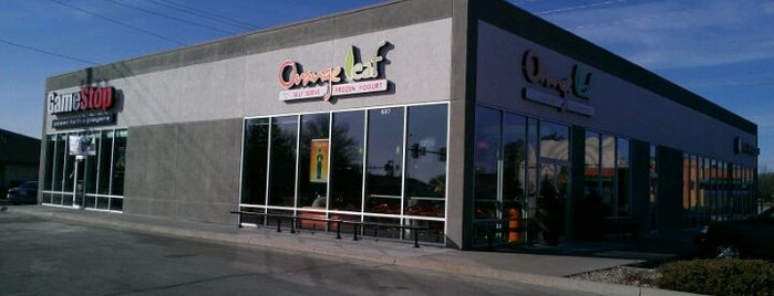 Orange Leaf Frozen Yogurt is one of 2012 Student Choice winners.