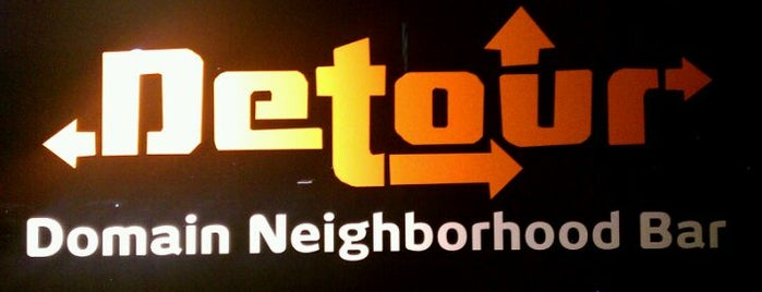 Detour is one of Clubs, Pubs & Nightlife in ATX.