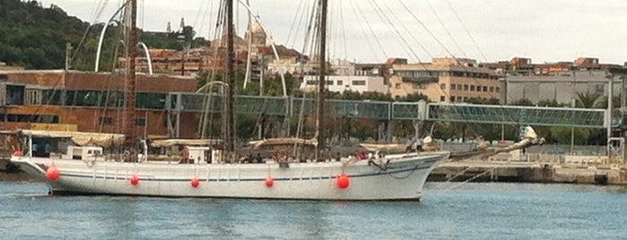 Rambla de Mar is one of BCN musts!.