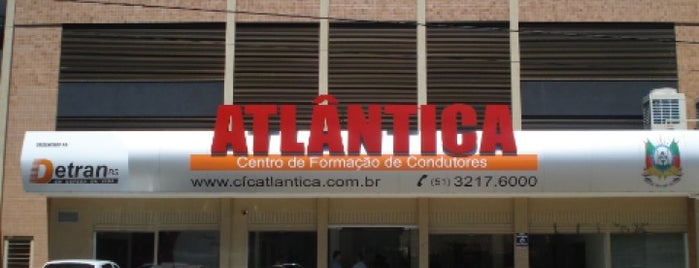 Centro de Formação de Condutores Atlântica is one of Locais curtidos por Leandro.