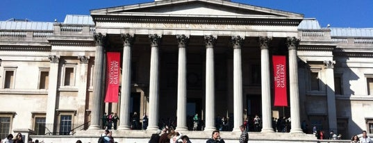 National Gallery is one of London for P' Arenui.