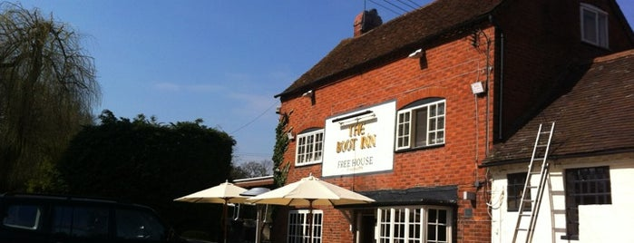The Boot Inn is one of Graham's Liked Places.