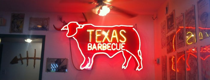 Green Mesquite BBQ is one of Southern Dinner Belle.