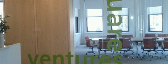 Union Square Ventures is one of Startups & Spaces NYC + CA.