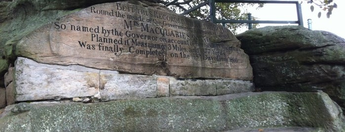 Mrs Macquarie's Chair is one of Australia & New Zealand.