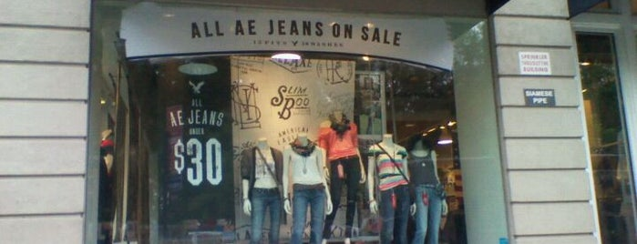 American Eagle & Aerie Store is one of Lugares guardados de JRA.