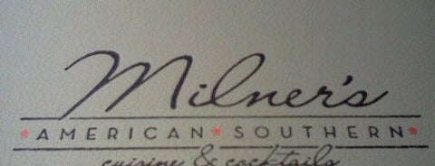 Milner's American Southern is one of Ricky's Burger Joints.