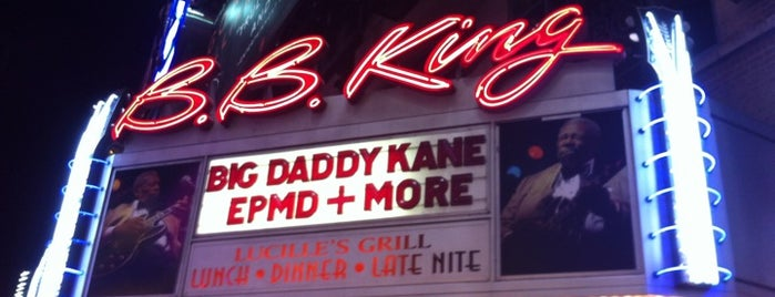 B.B. King Blues Club & Grill is one of Date Night.