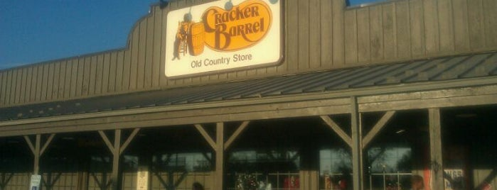 Cracker Barrel Old Country Store is one of Home.