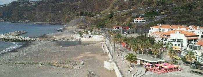 Praia Ribeira Brava is one of Madeira.