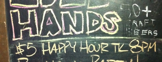 Idle Hands Bar is one of Whiskey.
