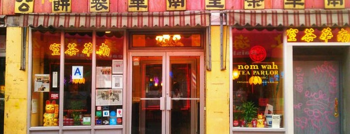 Nom Wah Tea Parlor is one of NY Region Old-Timey Bars, Cafes, and Restaurants.