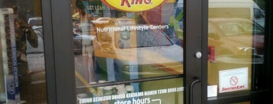 Smoothie King is one of Andrew'in Beğendiği Mekanlar.