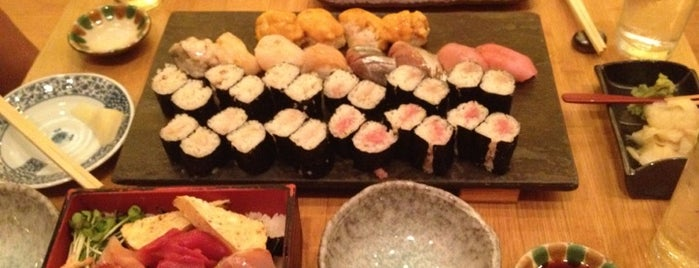Sushi Yasuda is one of Places to go when in New York.