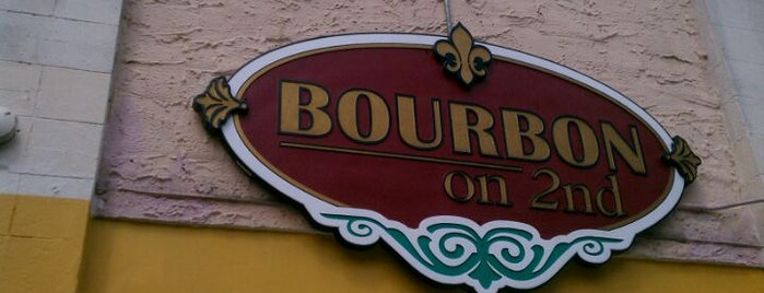 Bourbon On 2nd is one of Live Music #VisitUS.
