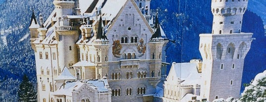 Château Neuschwanstein is one of Outside-of-Austin Traveler.