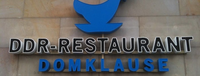 DDR-Restaurant Domklause is one of Food in Berlin.