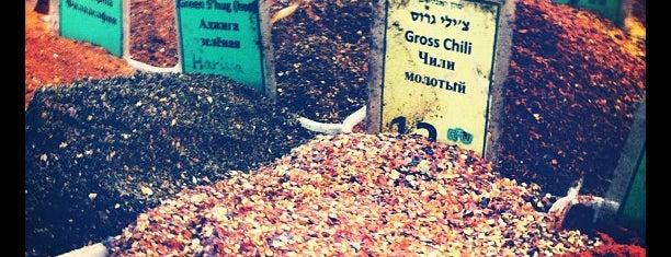 HaCarmel Market is one of We Love Tel Aviv!  #4sqCities.
