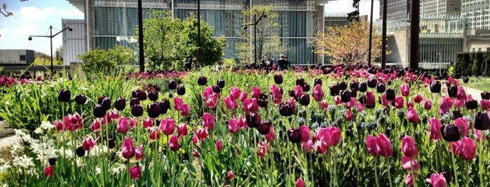 Lurie Garden is one of Two days in Chicago, IL.