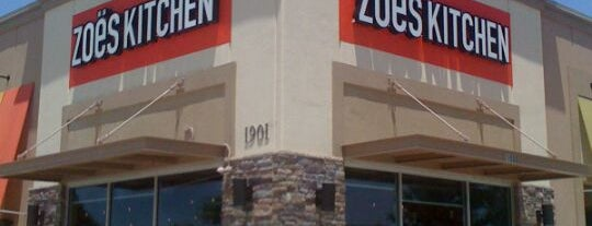 Zoës Kitchen is one of Restaurants to Remember.