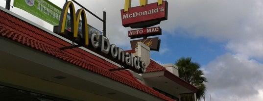 McDonald's is one of Lugares Visitados.