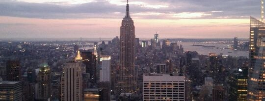 Top of the Rock Observation Deck is one of The Ultimate Bucket List.