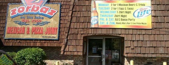 Zorbaz on Gull Lake is one of Eat / MN.