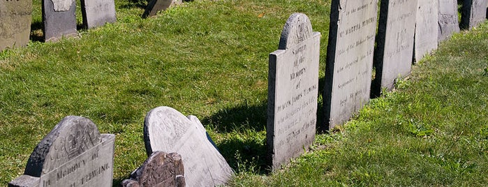 King's Chapel Burying Ground is one of Revolutionary War Trip.