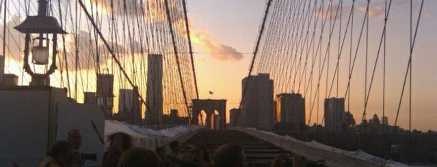 Brooklyn Bridge is one of NYC TriBeCa.