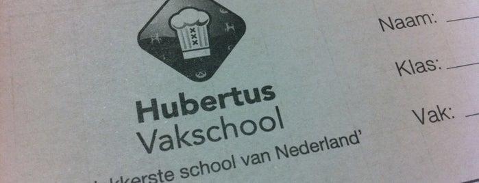 Hubertus Vakschool is one of Alle middelbare scholen van Amsterdam.