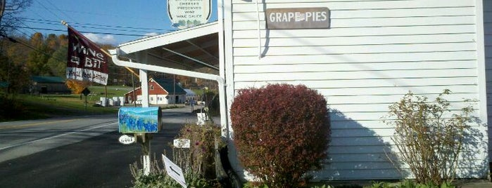 Arbor Hill Grapery & Winery is one of Naples, NY.
