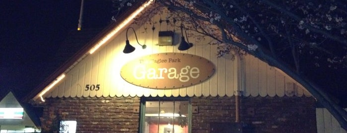 Naglee Park Garage is one of Diners, Drive-Ins, & Dives.