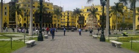 Plaza Mayor de Lima is one of Peru.