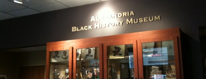 Alexandria Black History Museum is one of Discover Alexandria/Springfield.