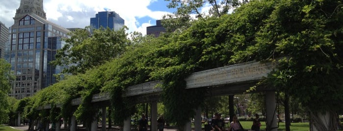 Christopher Columbus Park is one of Downtown Boston, Chinatown & North End.