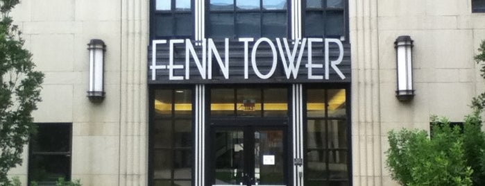 Fenn Tower is one of Cleveland State University.