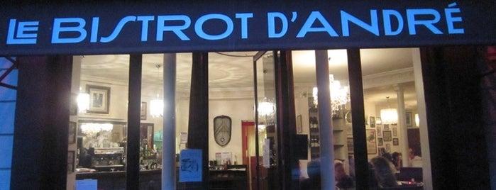 Le Bistrot d'André is one of  Paris Eat .